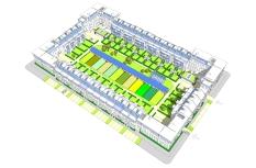 EkoBlox. Model urban block.