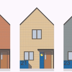 New homes. Holbeck Master Plan. Leeds