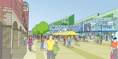 New Market Square. Wolverhampton Town Centre Master Plan.