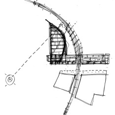 Mixed use landmark tower. Colwyn Bay