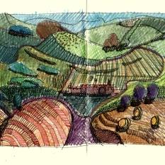 Study of Hockney's North Yorkshire. London