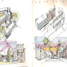 Office building types. Nokia Master Plan. Helsinki