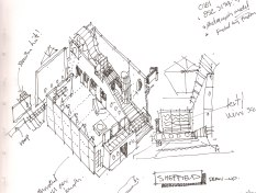 Original study for Millennium Visitor centre. London