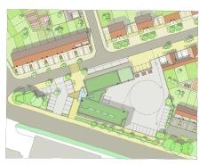 New community Hub. West Gorton Low Carbon Community