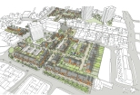 New residential quarter. Flint Town Centre.