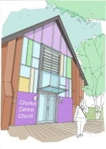 Chorlton Central. MTUD are currently developing a £500,000 refurbishment of this important local community asset.