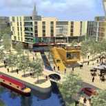 New canal marina
