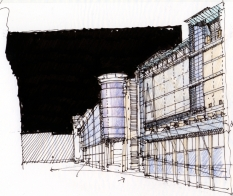 Micks Arndale sketch