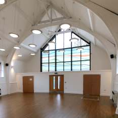 Chorlton Central: The new community hall
