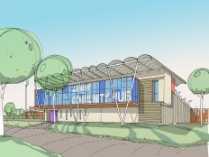 New Sport/Community Hub. Alsager